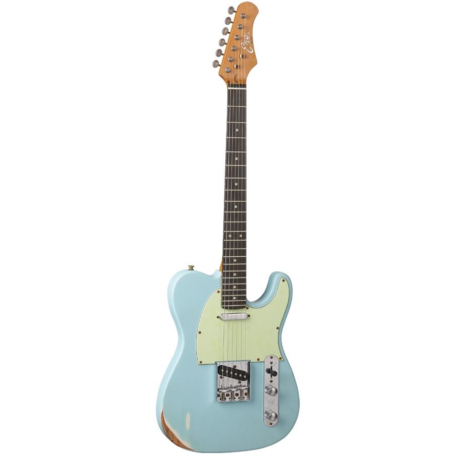 EKO GUITARS - VT-380 RELIC DAPHNE BLUE