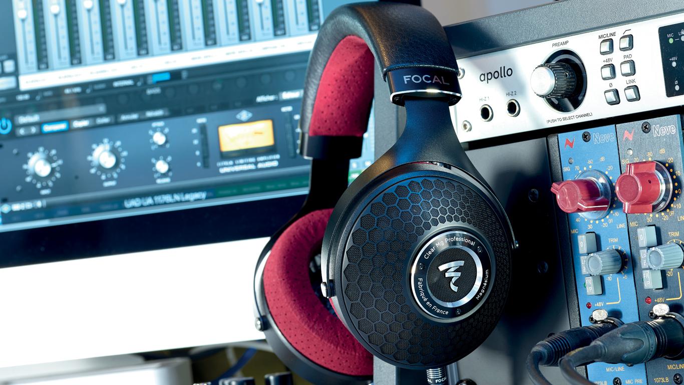 Focal Clear Mg Professional cuffia aperta circumaurale per producer, mix e mastering