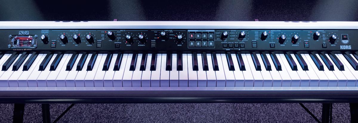 Il pannello comandi consente l'accesso immediato a tutte le funzioni principali dello   strumento in perfetto stile Vintage!
