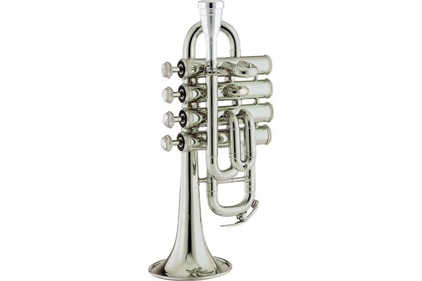 Amati - ATR 383ES-O Piccolo Trumpet SILVERPLATE