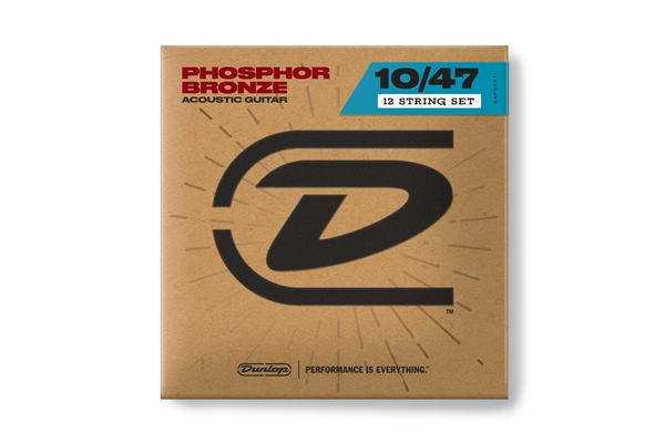 Dunlop - DAP1047J Acoustic Phosphor Bronze, Light Set/12
