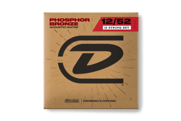 Dunlop - DAP1252J Acoustic Phosphor Bronze, Medium Set/12