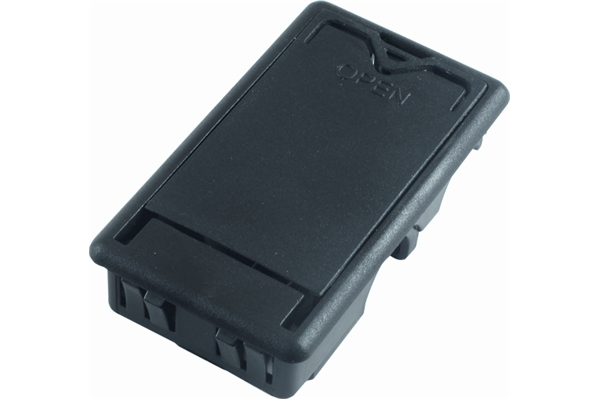 Dunlop - ECB244 Battery Box, Black