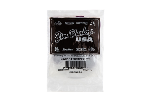 Dunlop - 462R Tortex III Purple 1.14