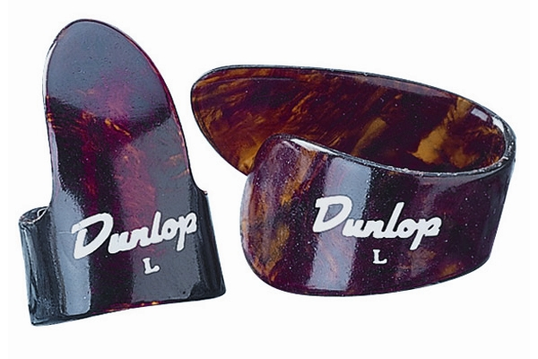 Dunlop - 9010PT 3FINGER & 1THUMB MED - PLAYER'S PACK 4 PLETTRI