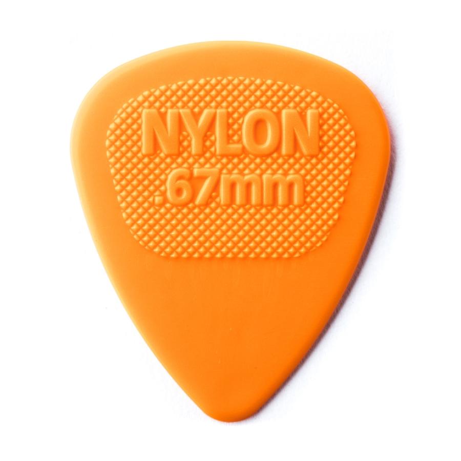 Dunlop 443R.67 Nylon Midi Orange .67mm