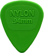 Dunlop - 443R.94 Nylon Midi Green .94mm