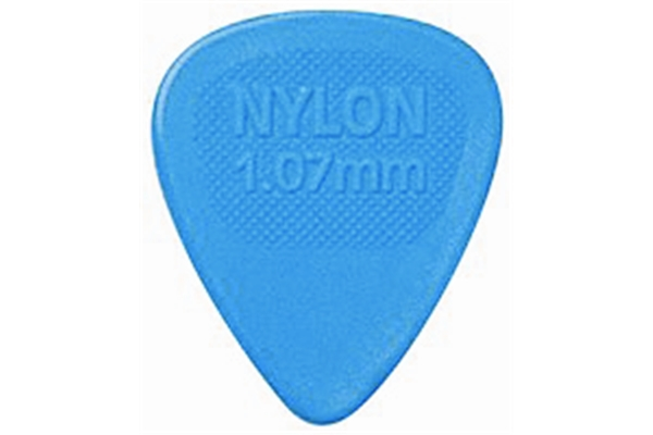 Dunlop - 443R1.07 Nylon Midi Blue 1.07mm