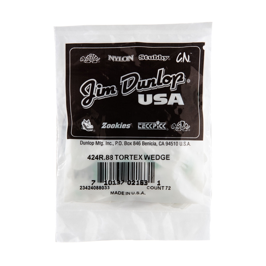 424R Tortex Wedge Green .88