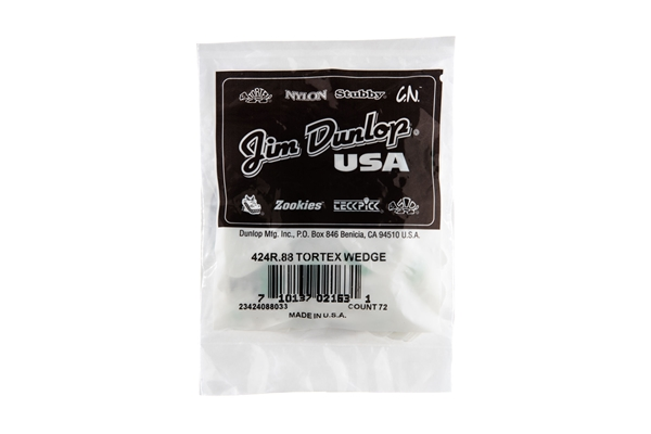 Mxr - 424R Tortex Wedge Green .88