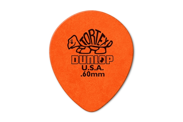 Dunlop - 413R Tortex Tear Drop Orange .60