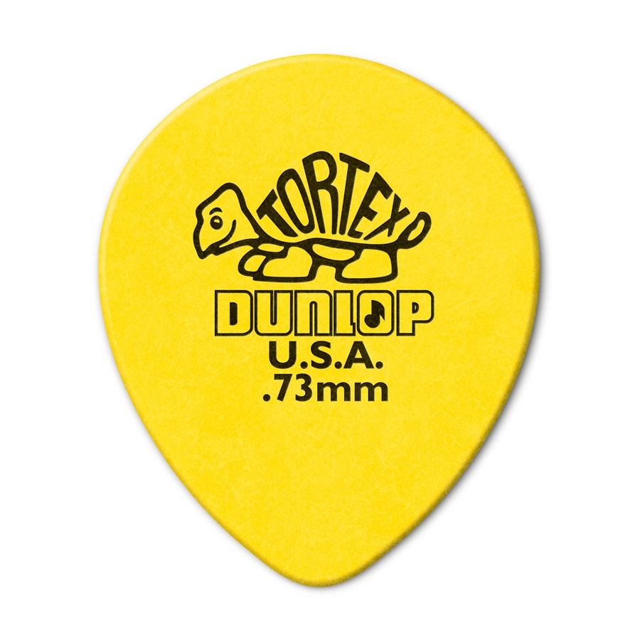 413R Tortex Tear Drop Yellow .73