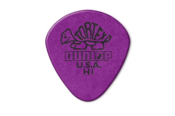 Dunlop - 472R Tortex Jazz Purple H1