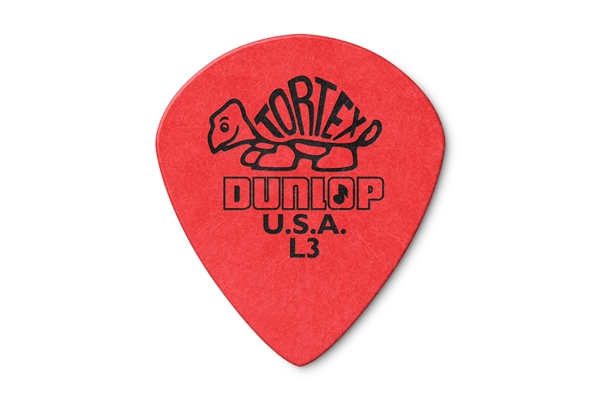 Dunlop - 472R Tortex Jazz Red L3