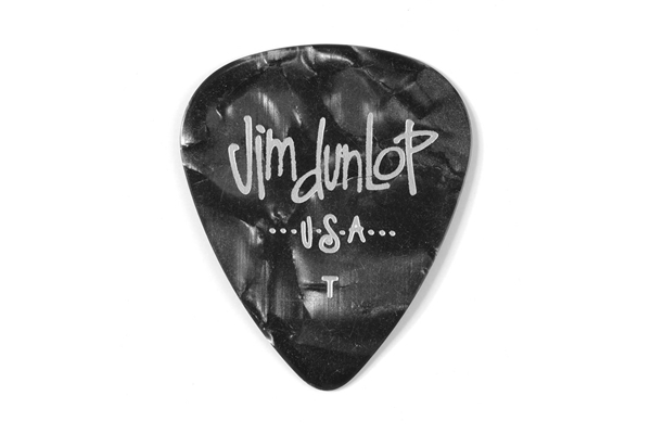 Dunlop - 483R#02 Black Perloid - Thin