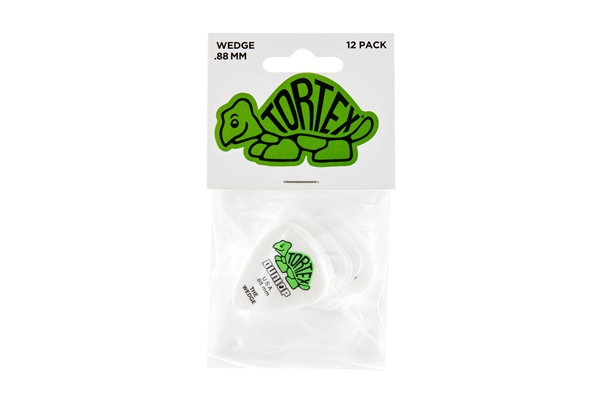 Dunlop - 424P Tortex Wedge Green .88