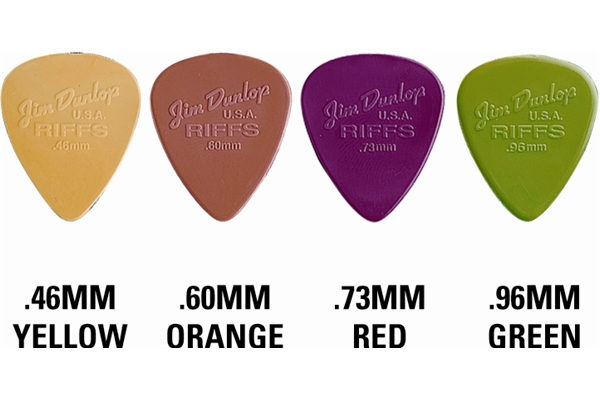 Dunlop - 4350 Riff Picks 4 Gross