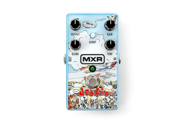 Mxr - DD25 Dookie Drive Green Day Signature