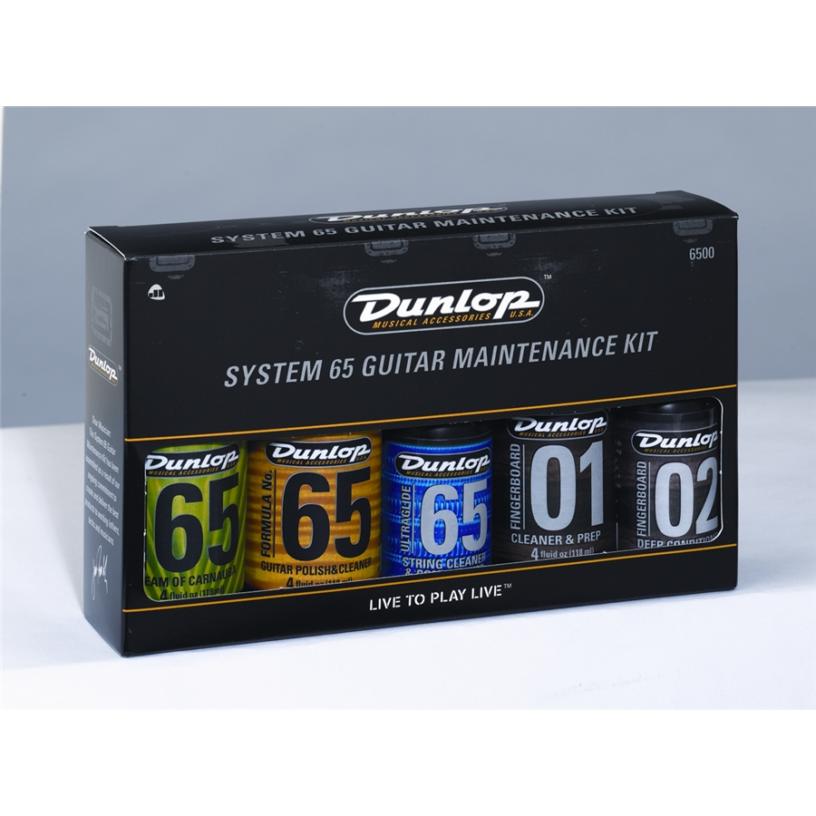Dunlop Guitar Maintenance Kit System 65 6500