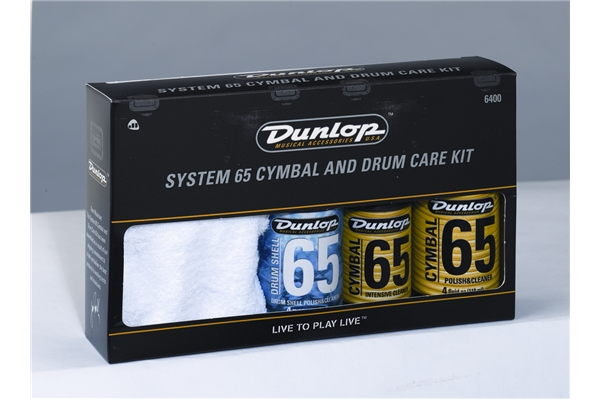 Dunlop - 6400 Cymbal & Drum Care Kit
