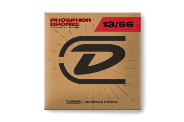 Dunlop - DAP1356 Acoustic Phosphor Bronze, Medium Set/6