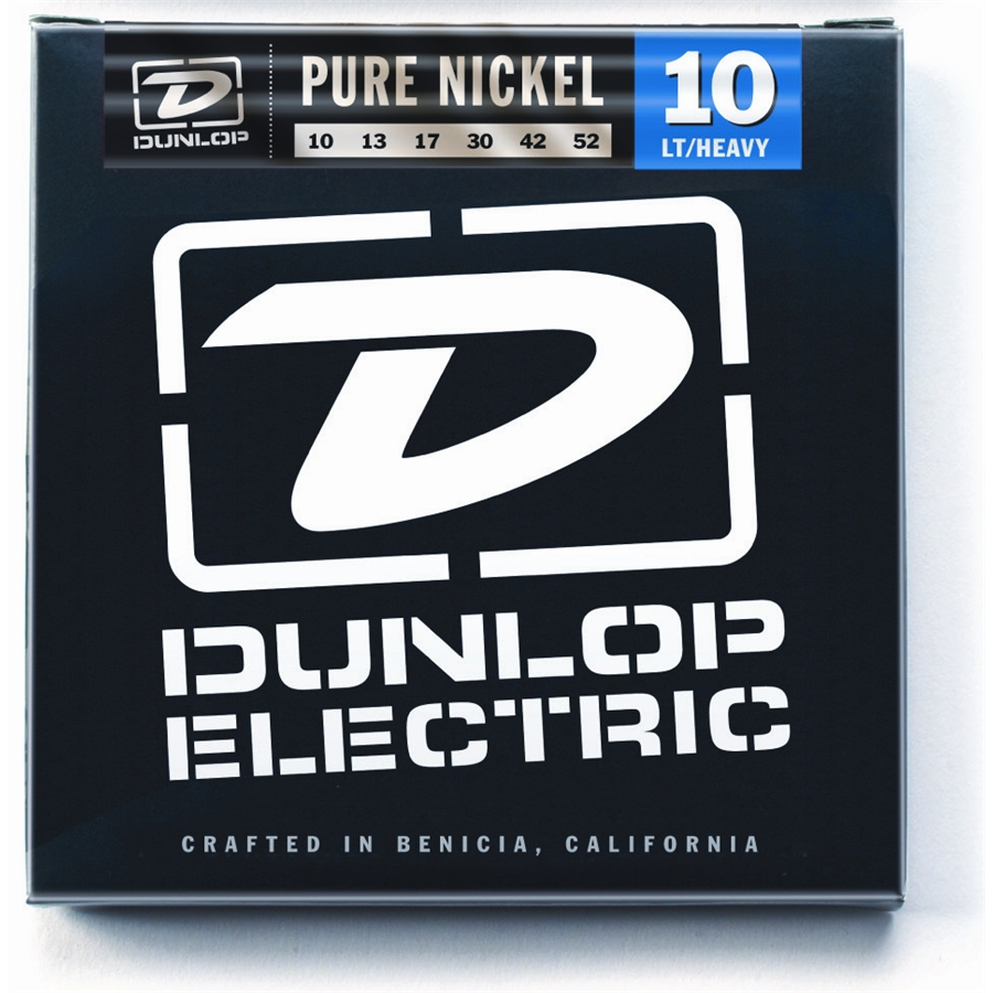 DEK1052 Pure Nickel, Light /Heavy, Set/6