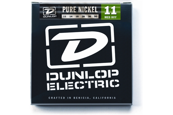 Dunlop - DEK1150 Pure Nickel, Medium /Heavy, Set/6