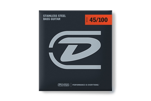 Dunlop - DBS45100 Stainless Steel, Medium Light Set/4