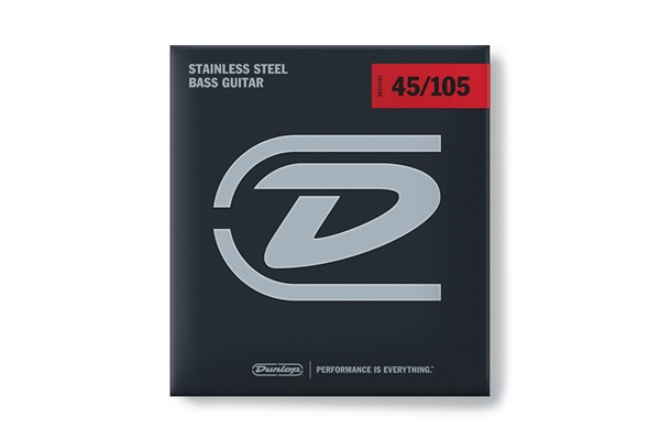 Dunlop - DBS45105 Stainless Steel, Medium Set/4