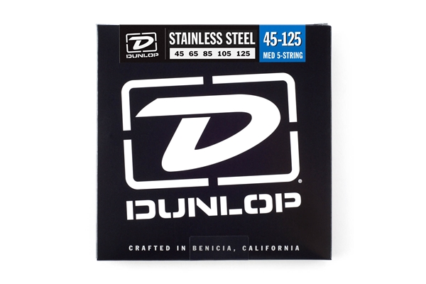 Dunlop - DBS45125 Stainless Steel, Medium Set/5