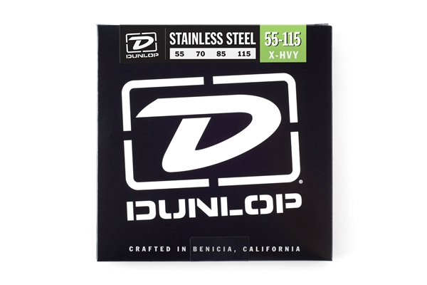 Dunlop - DBS55115 Stainless Steel, Extra Heavy Set/4