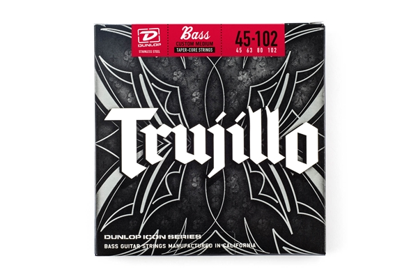 Dunlop - RTT45102T Robert Trujillo Signature, Medium Set/4