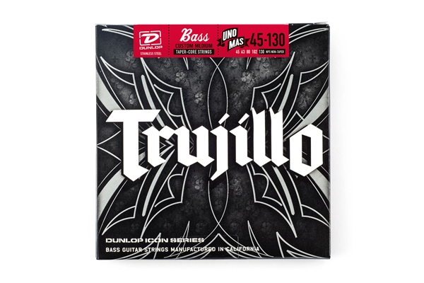 Dunlop - RTT45130T Robert Trujillo Signature, Medium Set/5