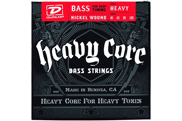 Dunlop - DBHCN45105 Heavy Core Set/4