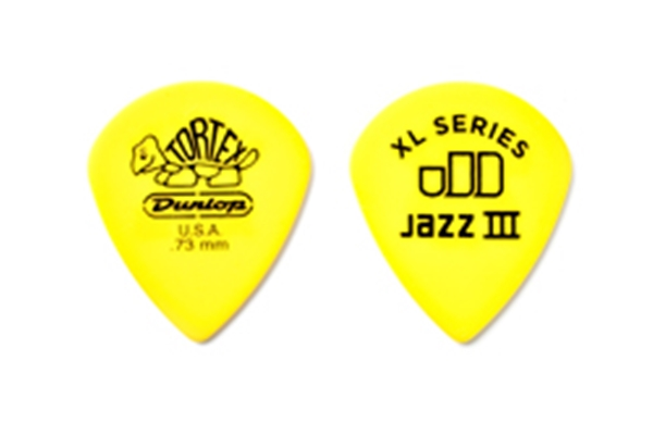 Dunlop - 498R.73 TORTEX JAZZ III XL, .73MM