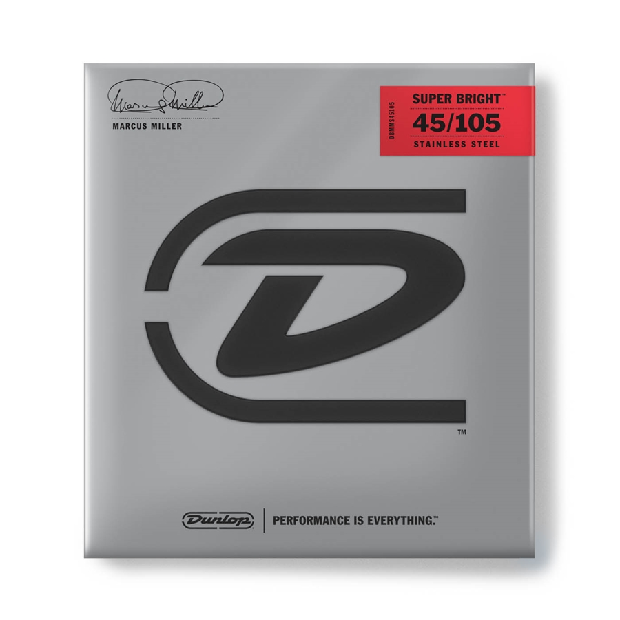 Corde per basso Dunlop Marcus Miller Signature DBMMS45105