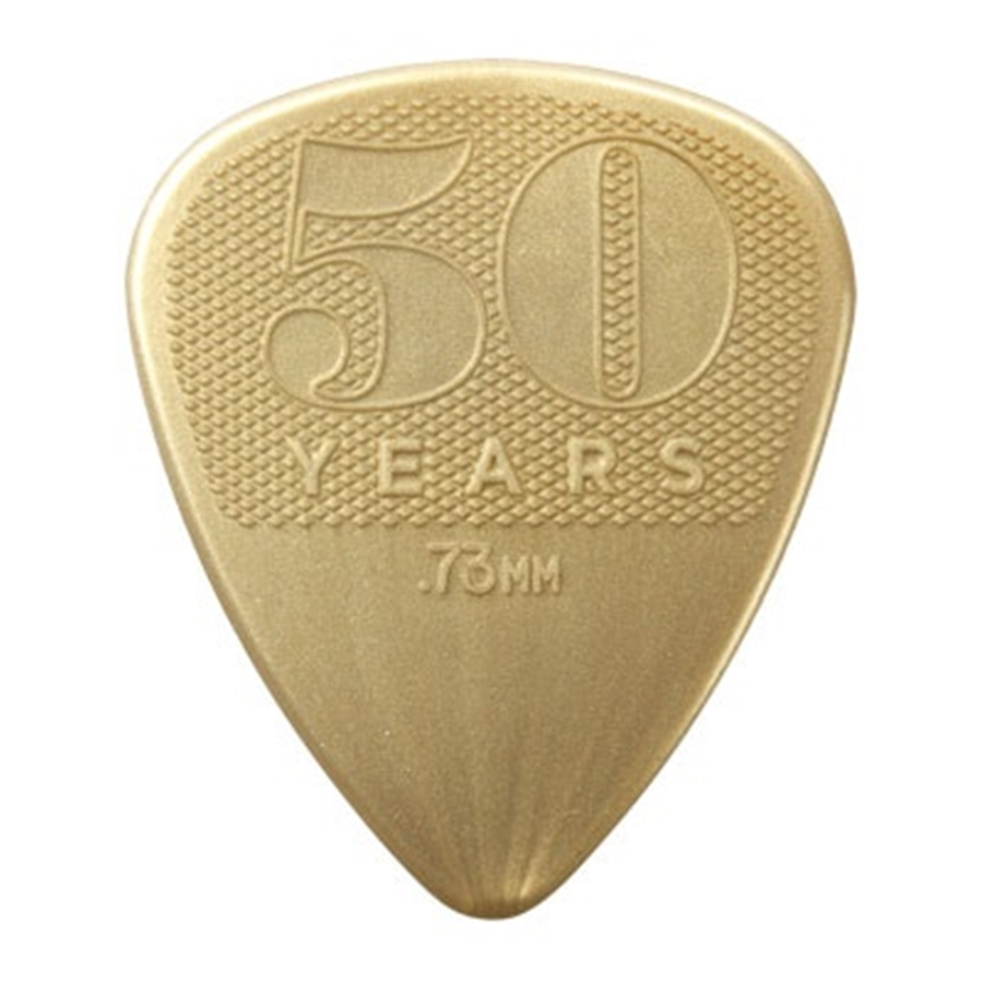 442P.73 0.73mm 50TH ANNIVERSARY NYLON PICK-PLAYER'S CONFEZIONE DA 12