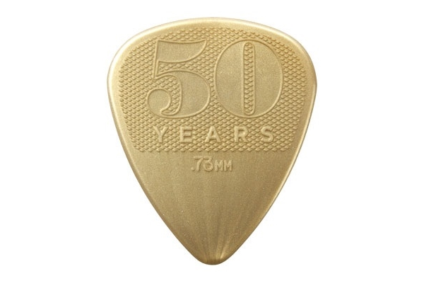 Dunlop - 442P.73 0.73mm 50TH ANNIVERSARY NYLON PICK-PLAYER'S CONFEZIONE DA 12