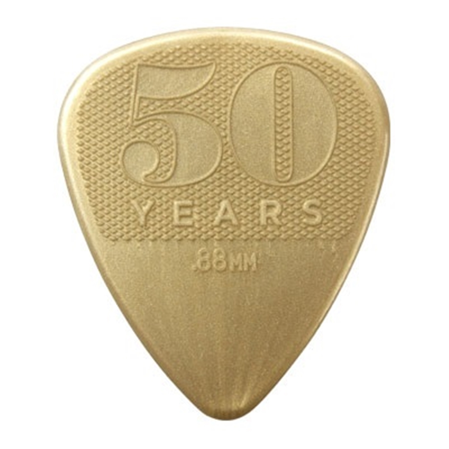 442P.88 0.88mm 50TH ANNIVERSARY NYLON PICK-PLAYER'S CONFEZIONE DA 12