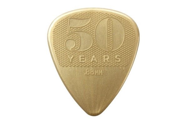 Dunlop - 442R.88 0.88mm 50TH ANNIVERSARY NYLON PICK-SCATOLA PER RICARICA DA 36