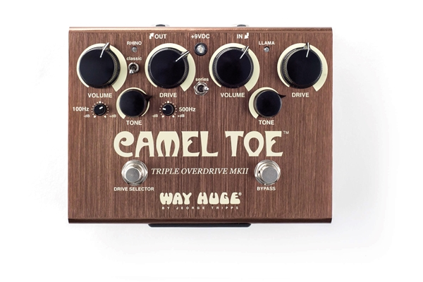 Dunlop - WHE209 Way Huge Camel Toe Triple Overdrive MKII