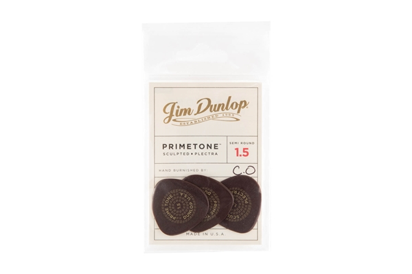 Dunlop - 515P1.5 Primetone Semi Round (Smooth), Player/3