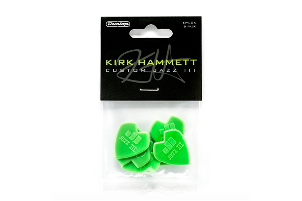 Dunlop - 47PKH3N Kirk Hammet Signature Player's Pack/6