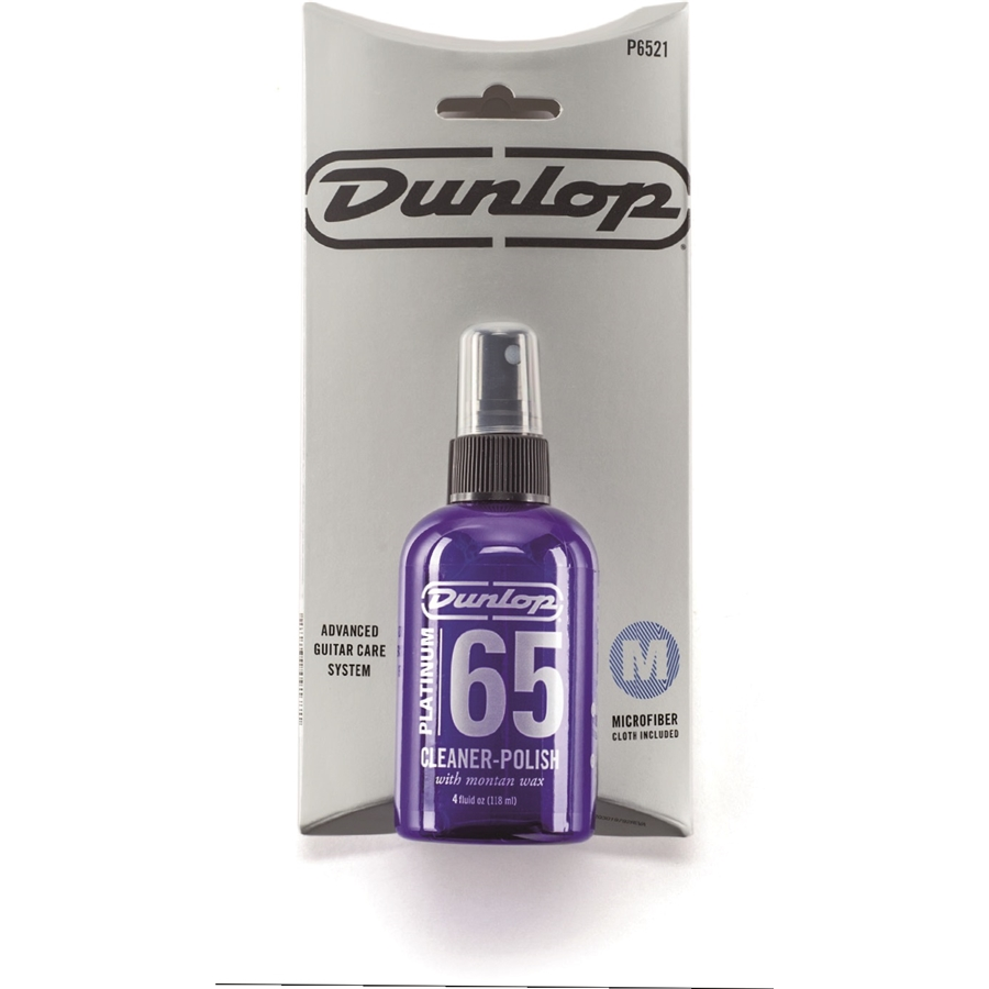 P6521 Platinum 65 Cleaner Polish con panno 7x7