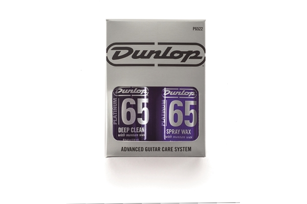 Dunlop - P6522 Platinum 65 Deep clean & Spray Wax System con 2 panni 7x7