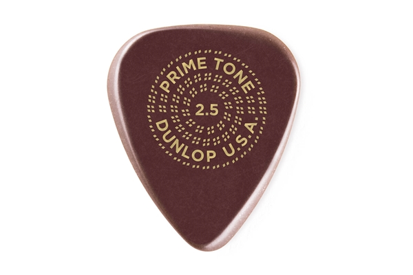 Dunlop - 511R2.5 Primetone Sculpted Plectra Standard 2.5 mm Smooth Bag/12