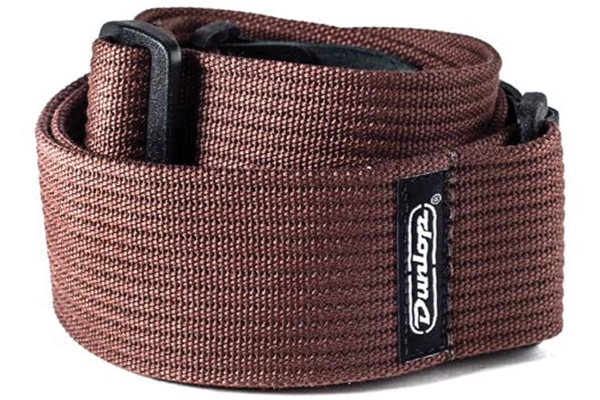 Dunlop - D27-01BR STRAP RIBBED COTTON CHOCOLATE