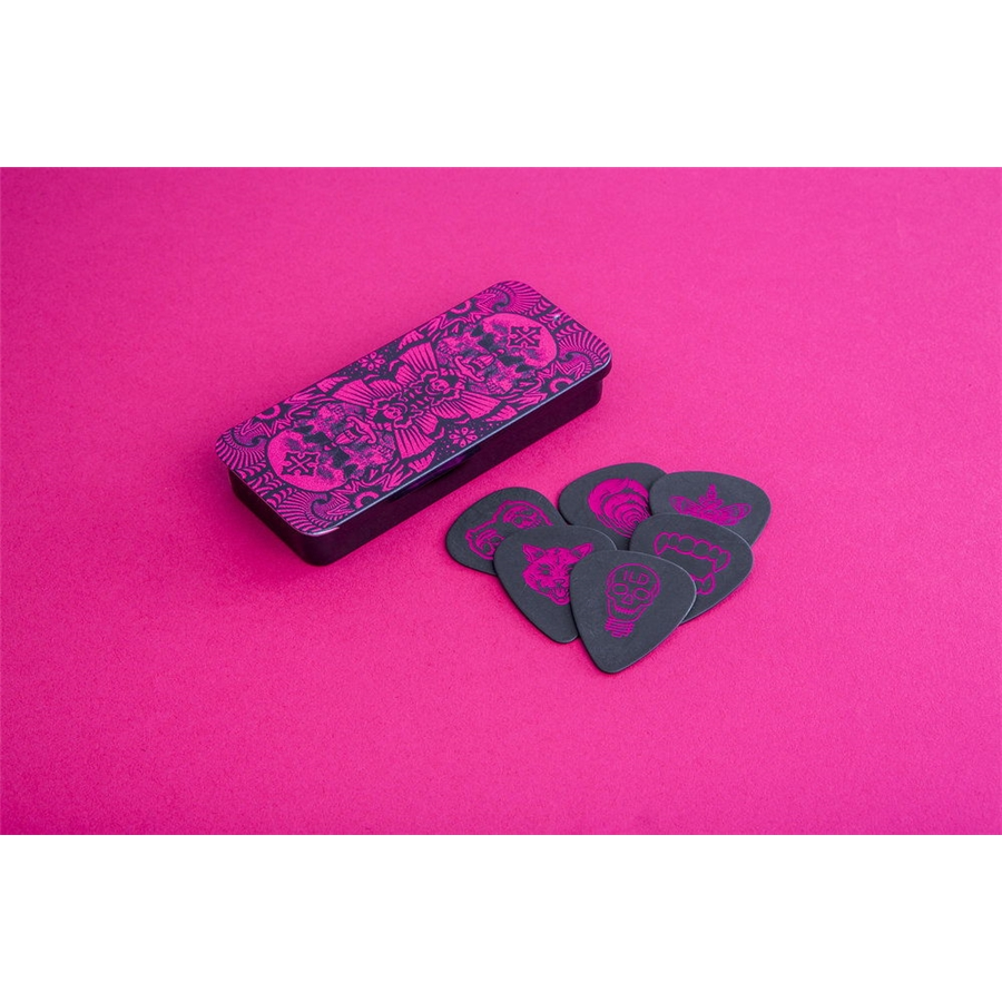 ILDCT02 I Love Dust Pick Tin Magenta Box/6