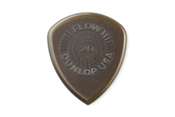 Dunlop - 549P200 Flow Standard Grip 2.0 mm Player's Pack/6