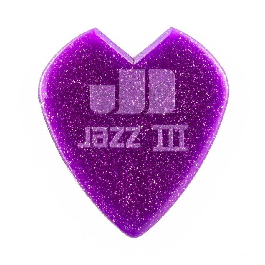 47RKH3NPS Kirk Hammett Purple Sparkle Jazz III Bag/24